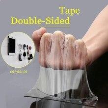 Traceless bant 1/2/3/5m yeniden çift taraflı yapıştırıcı Nano bantlar çıkarılabilir etiket yıkanabilir yapıştırıcı döngü diskleri kravat tutkal
