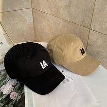Gorra de béisbol con letras bordadas para mujer, gorro de béisbol con letras del alfabeto, transpirable, suave, versión coreana, estilo coreano, informal, tendencia