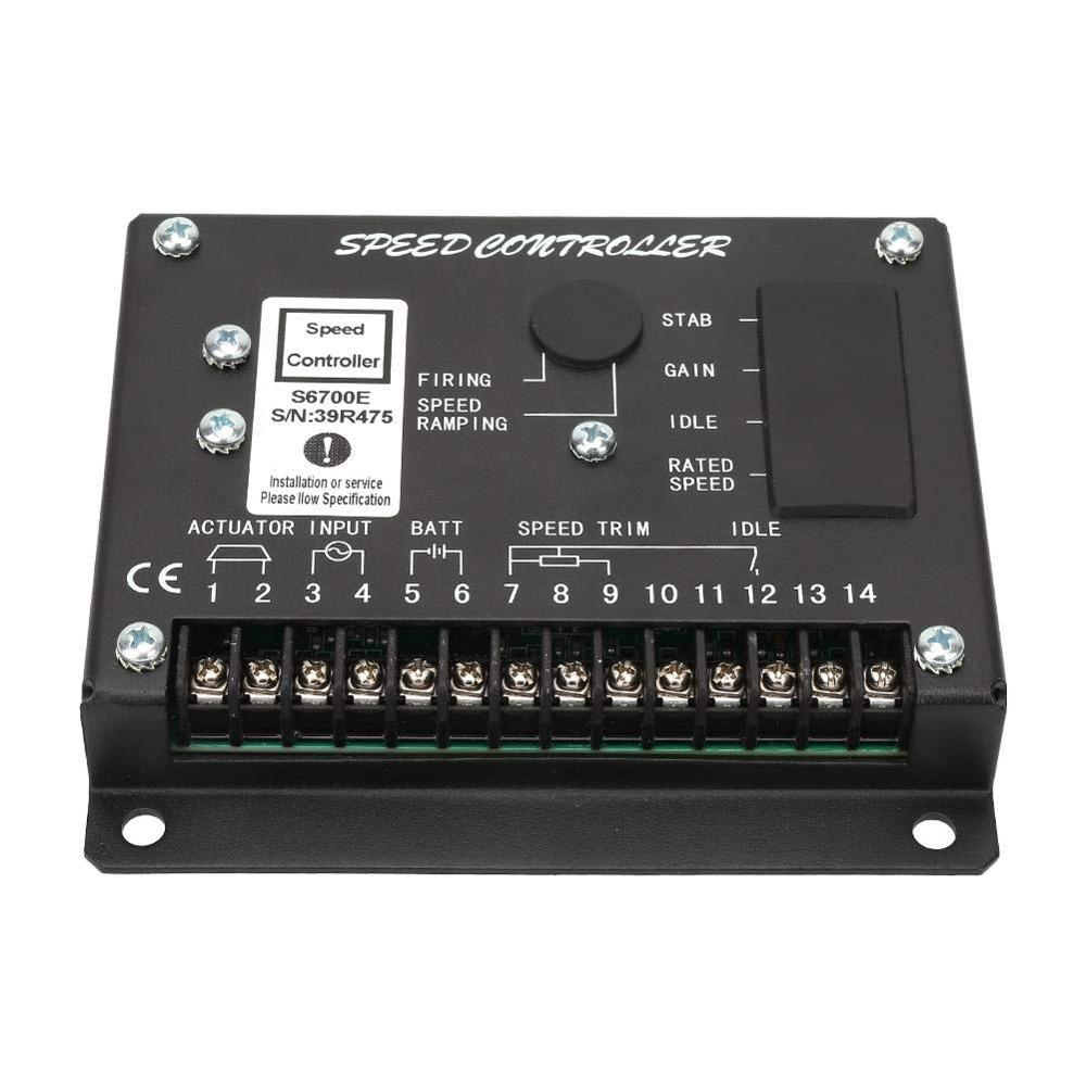 Engine Speed Controller S6700E, Speed Governor Control S6700E