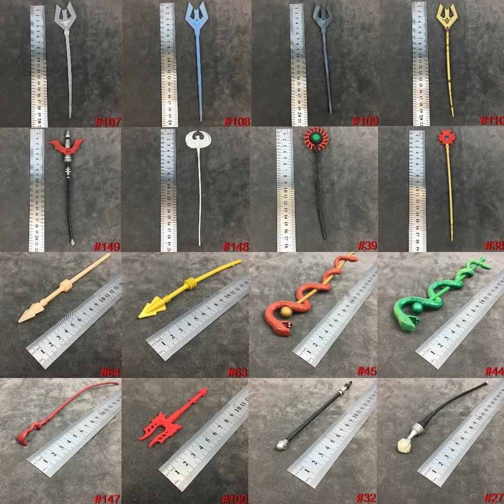 He Man MOTU Action Figure 's Accessories Weapons Classics Vintage Magic Wand Fork Skeletor Ram Mattle