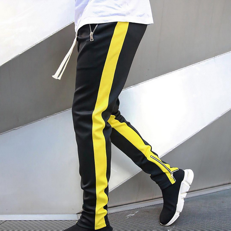 Adisputent Men Joggers Casual Pants Fitness Sportswear Tracksuit Bottoms Skinny Sweatpants Trousers Black Gym Jogger Track Pants
