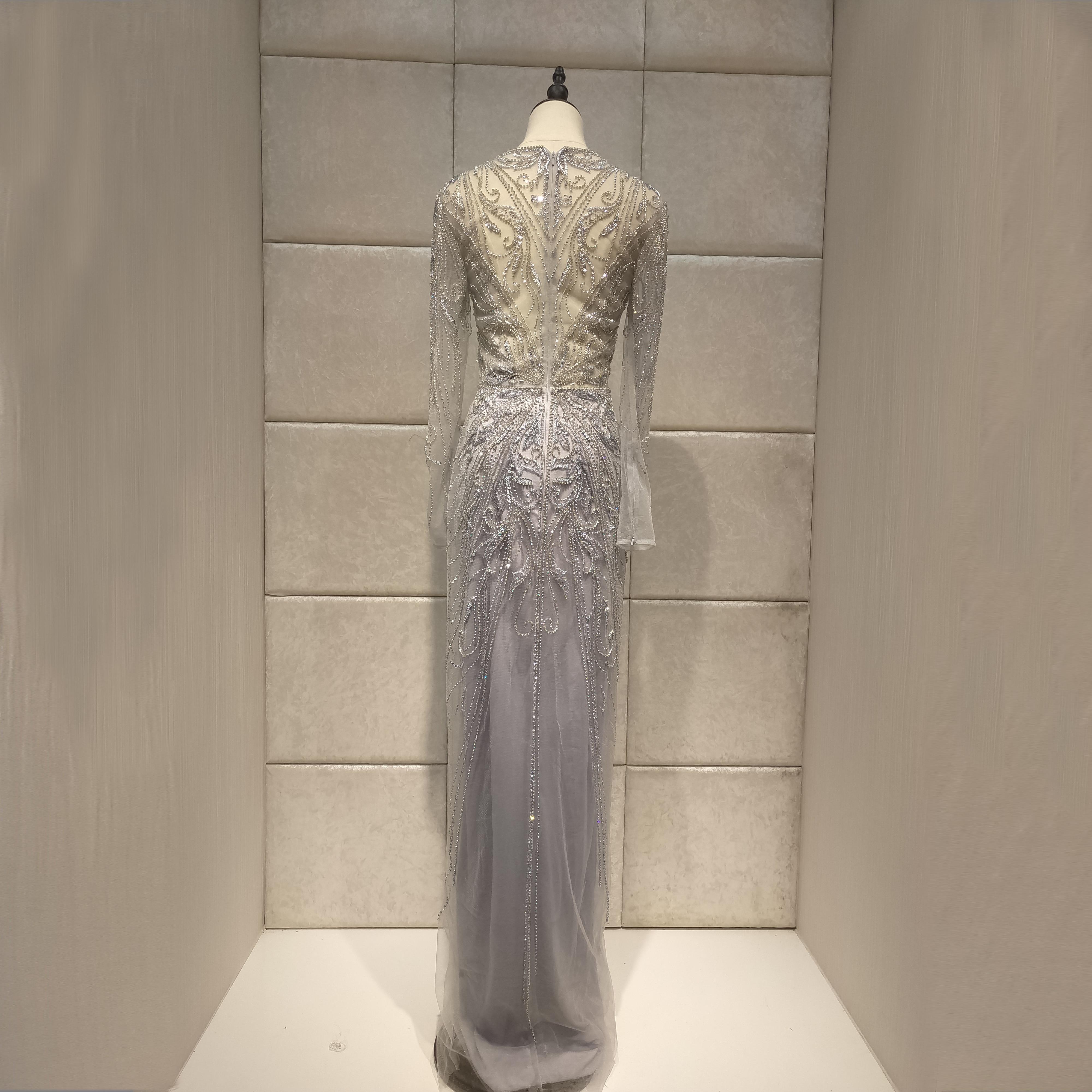 Image 4 - mermaid Evening dress 2019new vestidos de fiesta de noche robe de soiree  dress party serene hill-in Evening Dresses from Weddings & Events