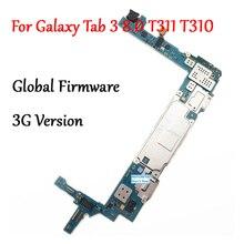 テスト全作品解除マザーボード三星銀河タブ 3 8.0 T310 T311 SM T311 回路電子パネルグローバルファームウェア