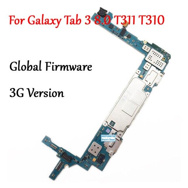 Getestet Volle Arbeit Entsperren Motherboard Für Samsung Galaxy Tab 3 8,0 T310 T311 SM T311 Schaltung Elektronische Panel Globale Firmware