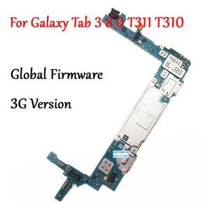 Image 1 - נבדק מלא עבודה נעילה האם עבור Samsung Galaxy Tab 3 8.0 T310 T311 SM T311 מעגל אלקטרוני פנל הגלובלי הקושחה