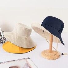 Двойная Рыбацкая шляпа женская подвеска XIA han edition tide joker большая вдоль Защита от солнца УФ-излучения блок лицо тени шляпа от солнца