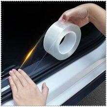 Części wewnętrzne samochodu Protector Film krawędź drzwi klej ochronny do GMC Mahindra Hino Lincoln Cadillac Acura Tata silniki