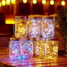 20 светодиодных ламп для бутылки вина набор свечей Звездные