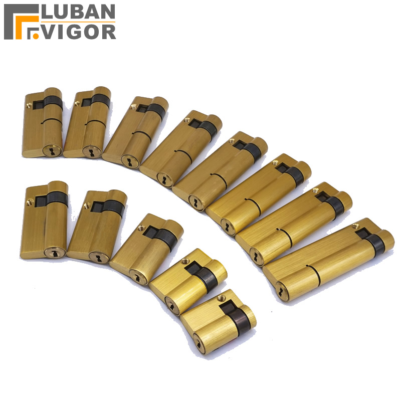 Fingerprint smart Lock cylinder ,Copper material,C-Class Blade lock,with 3keys,High security One-sided Half lock cylinder