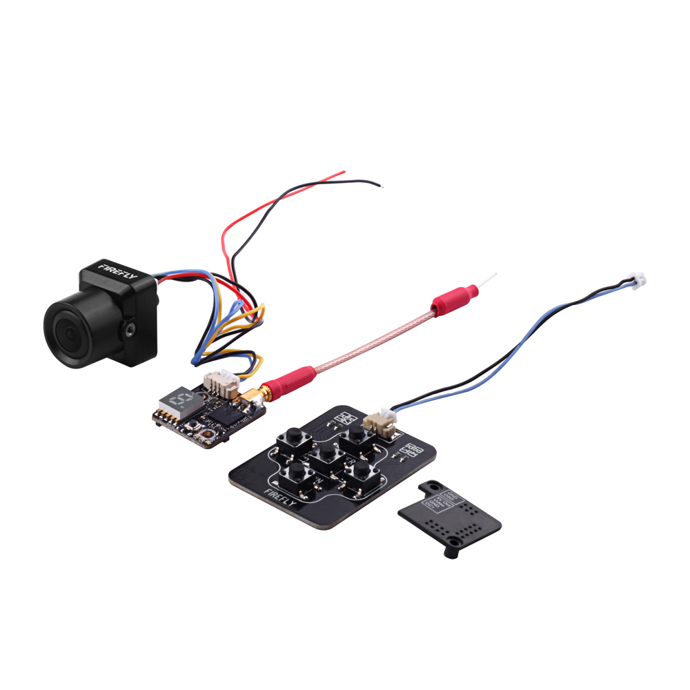 2019 New Firefly Fortress Micro FPV Camera (All-in-one) 5.8G 0-200mw Transmitter VTX AIO For RC Models image