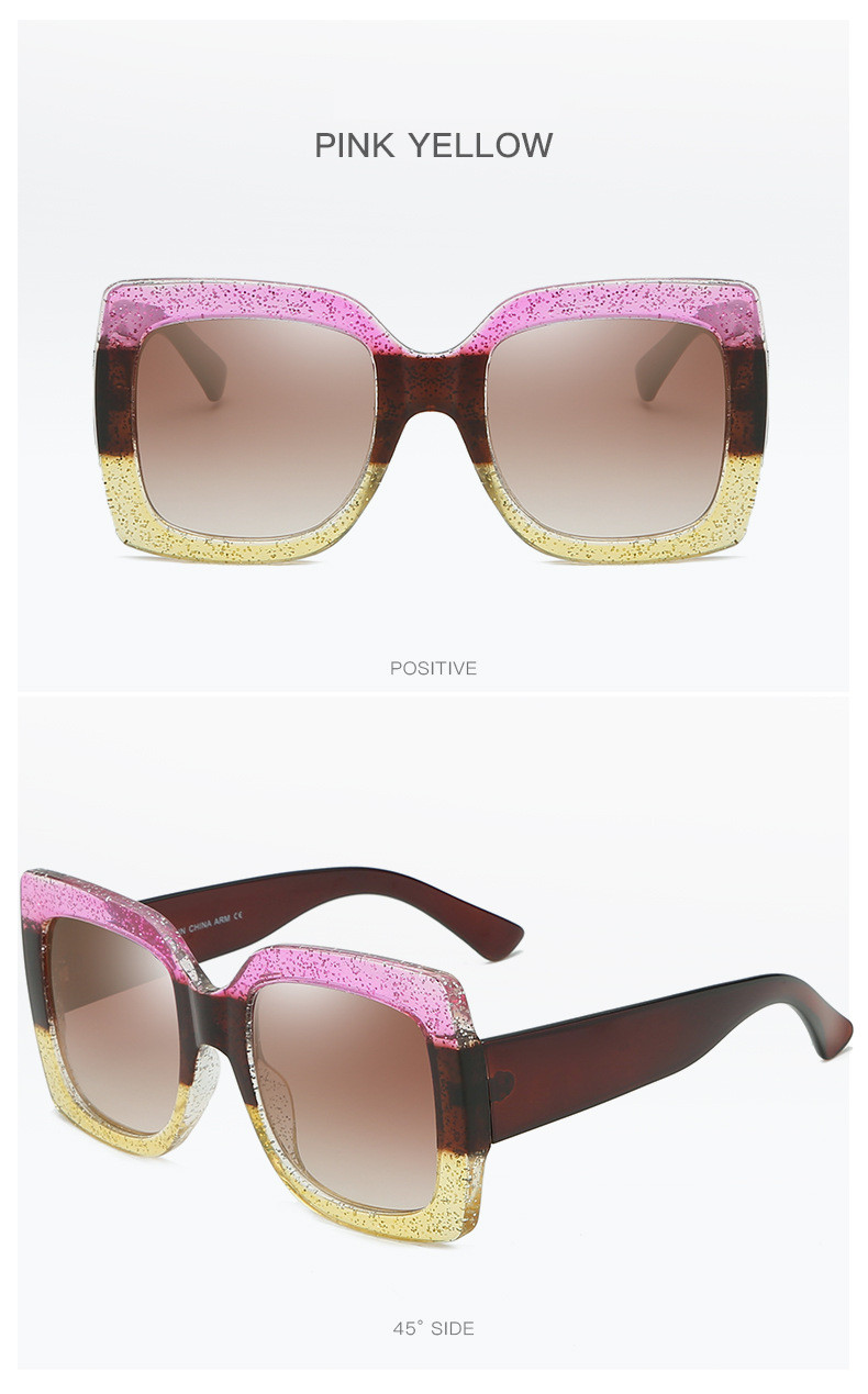 Luxury Brand Designer Square Sunglasses Shades For Women Vintage Women's Sun Glasses Cool Retro 2021 Trends Sunglasses Female gg (11)