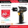 DEKO GCD12DU3 12V Electric Mini Cordless Drill Wireless DC Lithium-Ion Batter 2-Speed 1