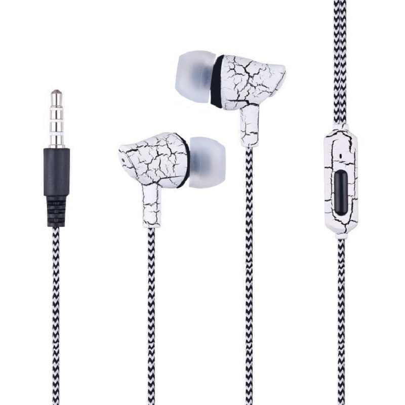Kulaklık Stereo bas kulak kulaklık gürültü iptal kulaklıklar DJ kulaklık HiFi cep telefonu için fone de ouvido rastgele