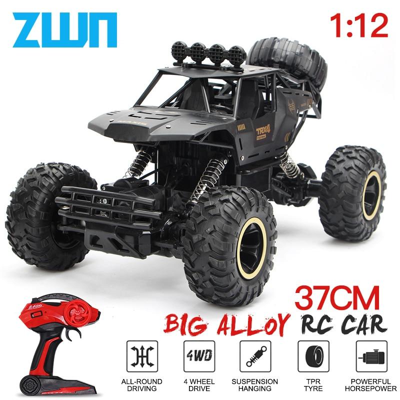 ZWN 112 / 120 4WD RC voiture 2.4G Radio contrôle voiture jouets Buggy tout-terrain télécommandé camions garçons jouets pour enfants