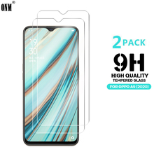 2 Pcs Tempered Glass For Oppo A9 2020 Glass Screen Protector 2.5D 9H Premium Tempered Glass For Oppo A9 2020 Protective Film