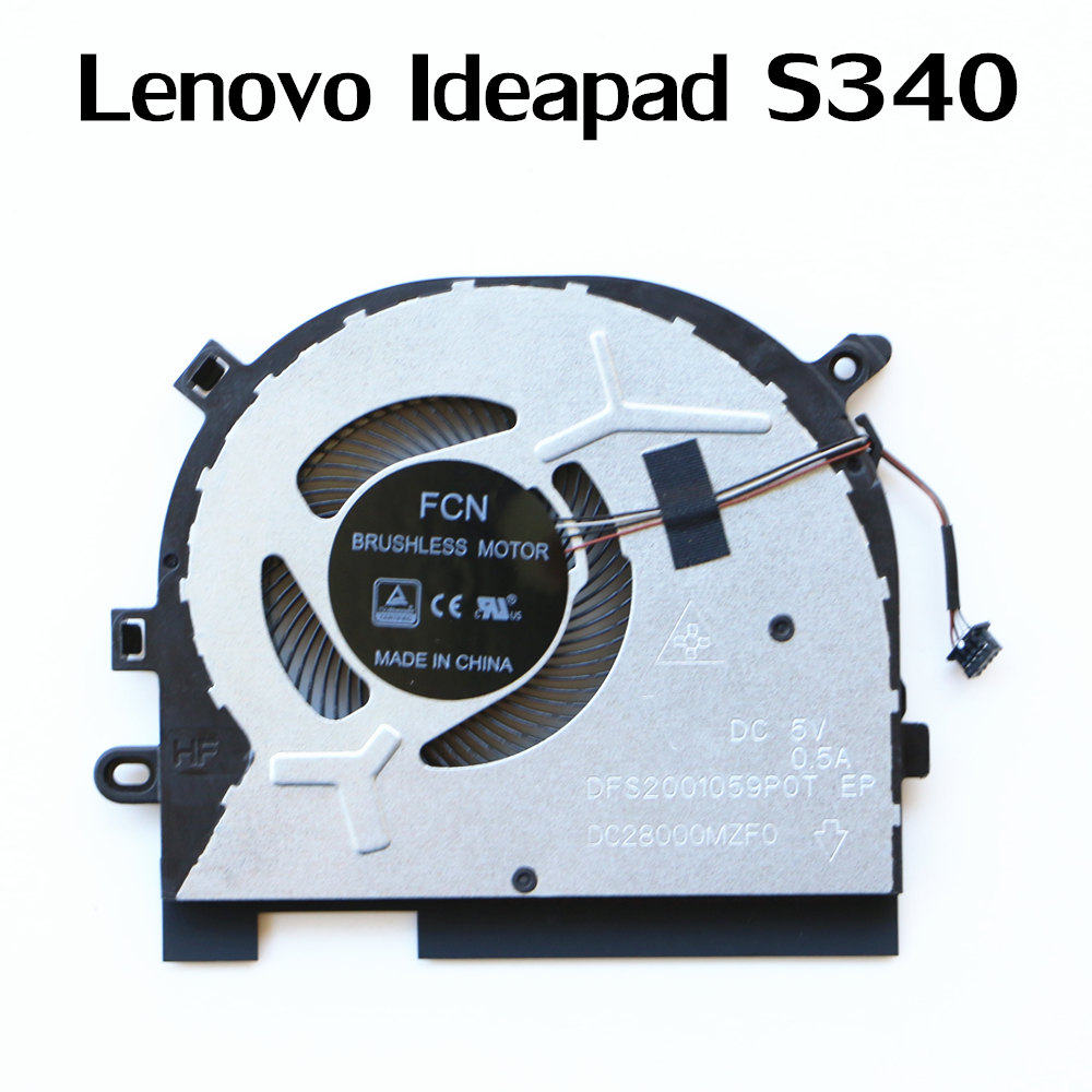 Laptop Replacement Cooler Fan For Lenovo Ideapad S340 Cpu Cooling Fan