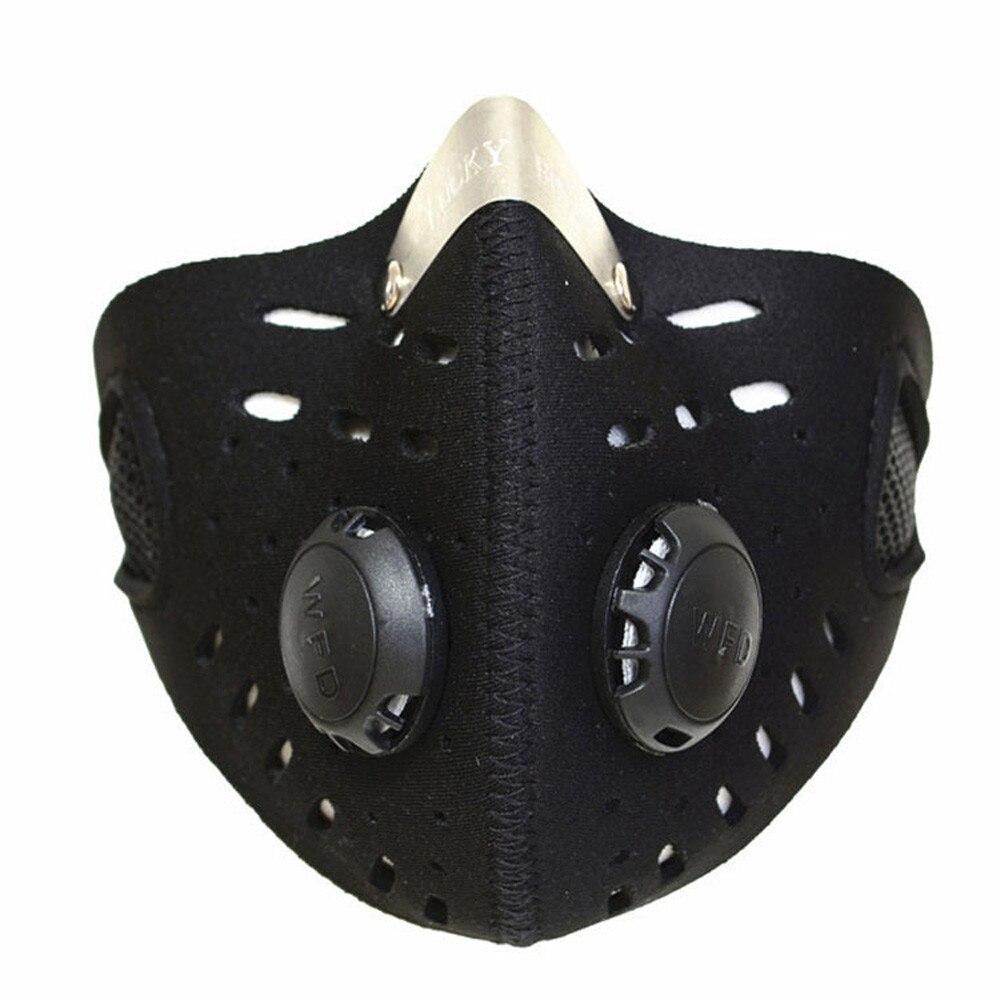 Nouveau course poussière anti-poussière moto équitation vélo Ski demi visage masque filtre en plein air sécurité respirer soins cyclisme bouche-moufle