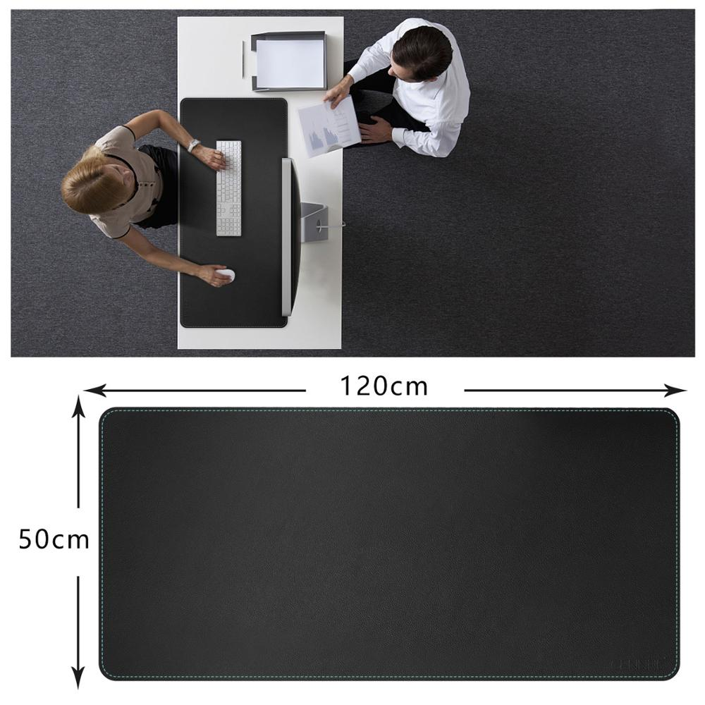 Super Large 120x50CM Waterproof PU Leather Gaming Desk Pad For LOL Csgo Overwatch DOTA2 Game Player Desktop Keyboard & Mouse Mat