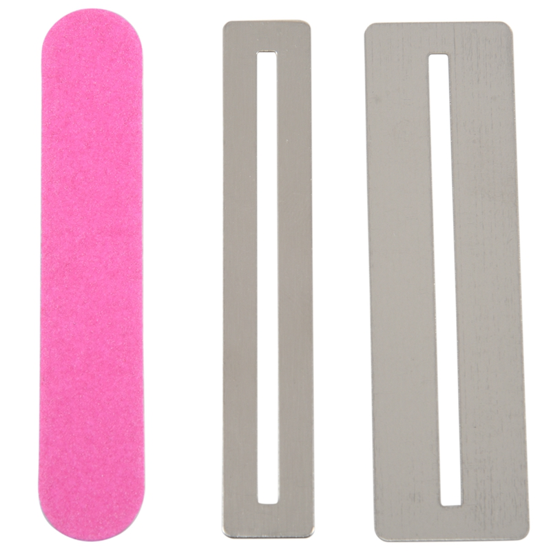 Guitar Neck Notched Straight Edge Luthiers Tool,String Action Ruler,Cleaning Cloth for Guitar Fretboard and Frets