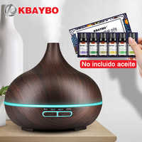 300ML Ultrasonic Aromatherapy Humidifier 6 Kinds Essential Oil for Diffuser Mist Maker Aroma Diffuser Fogger LED Light