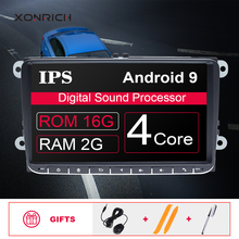 92Din Android 9 Car DVD radio GPS Navigation For VW Passat B6 volkswagen Jeta touran Skoda Octavia 2 golf 5 6 Multimedia Player free shipping android 9 inch car dvd player for vw volkswagen polo passat golf touran sharan quad core usb gps navigation radio