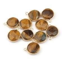 купить Wholesale Pendants Jewelry Making 16 Color WaterDrop Shape Natural Stone Rose Quartzz Crystal Pendant Necklace Accessories недорого