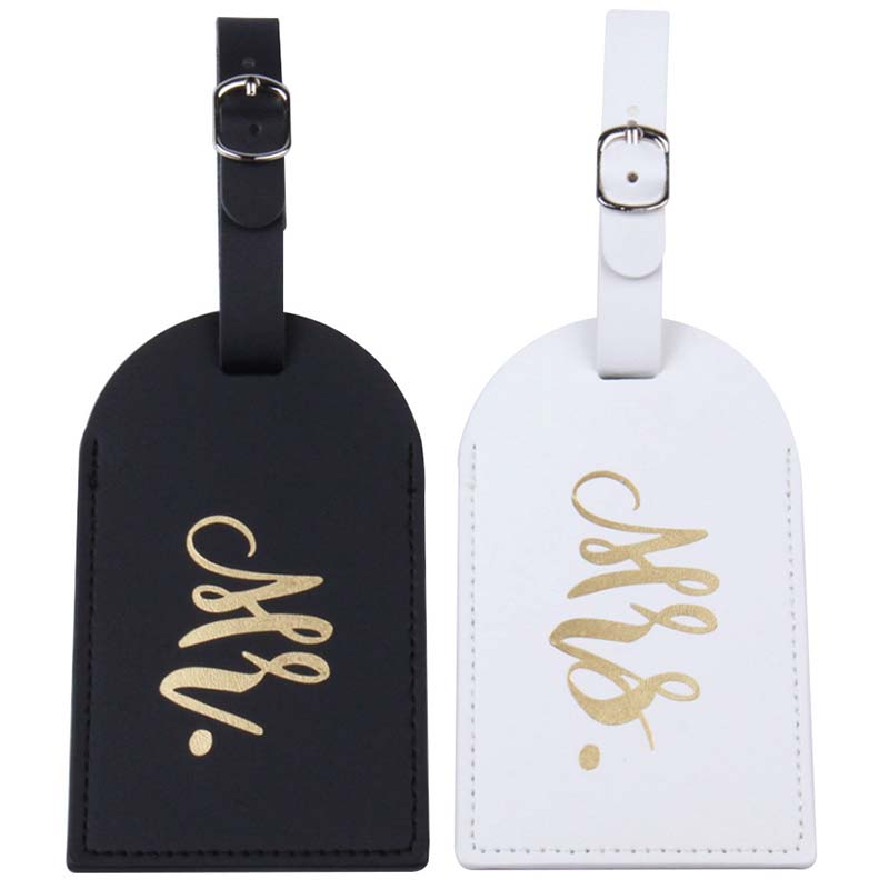 New Fashion Mr&Mrs Suitcase Luggage Tag Bag Pendant Travel Accessories Name ID Address Wedding VIP Invitation Label