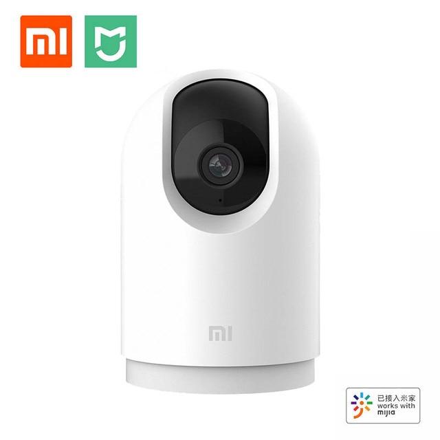 최신 카메라 Xiaomi 스마트 카메라 PTZ Pro 블루투스 게이트웨이 2K 품질 300 픽셀 360 ° AI 모니터링 2.4GHz / 5GHz WiFi