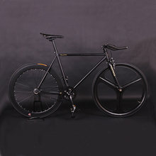 Fixie Bike Fixed gear Bike steel Frame 52cm Cycling Road Bike Magnesium Alloy wheel single speed Bicycle(China)