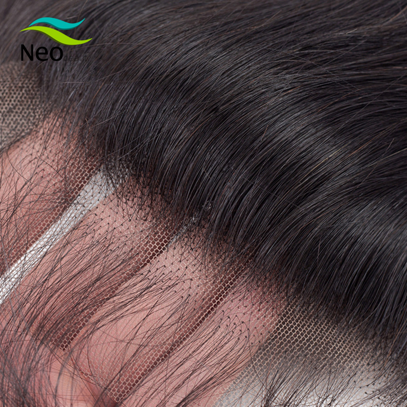 10A Human Hair 13x4 HD Transparent Lace Frontal Pre-plucked With Baby Hair Transparent Straight Frontal