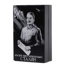 Holders Cigarette-Boxes Stalin Portable Union Will Laser Carved Drop-Ship Soviet Not-Fade