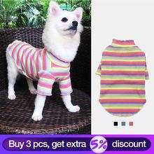 Хлопковая Тедди Одежда для домашних животных осень зима Бишон