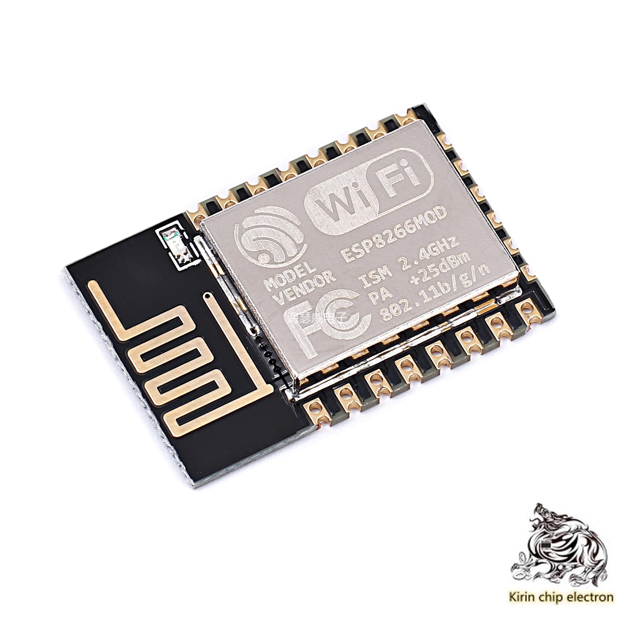 5pcs / Lot Esp8266 Serial WiFi Industry Milestone, Model: Esp-12e