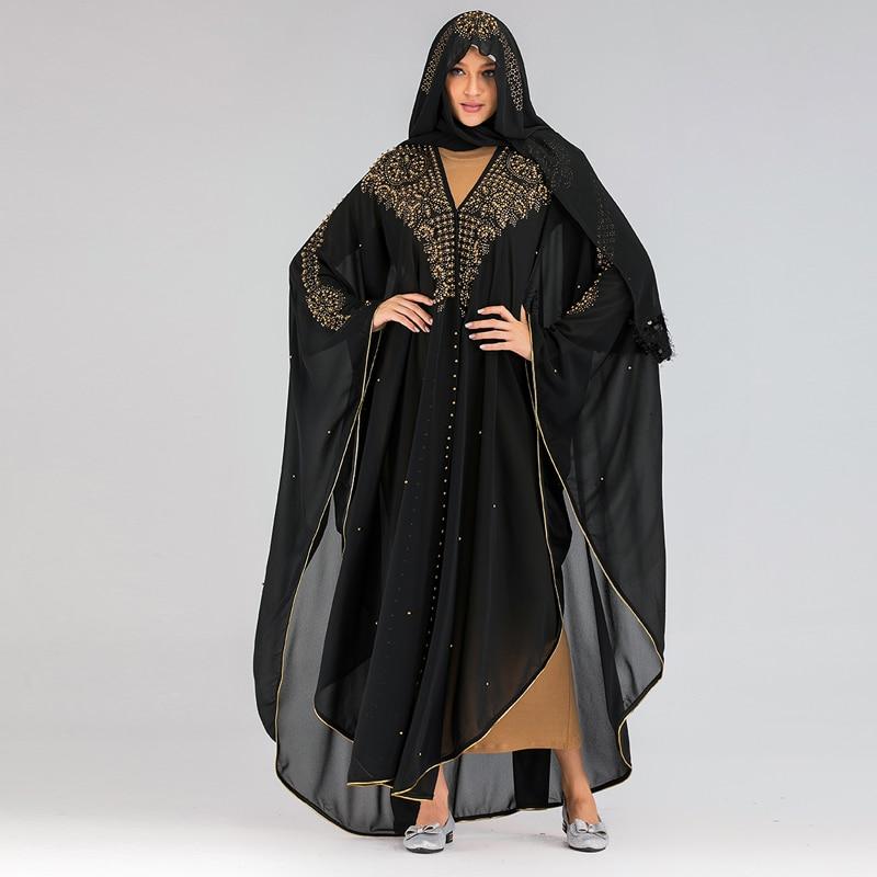 Niqab Dubai Abaya Kimono Muslim Cardigan Hijab Dress Abayas For Women Kaftan Caftan Maroc Turkish Islamic Clothing Djelaba Femme