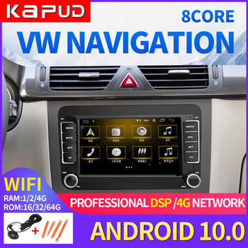 Kapud Android Multimidia Car Gps Radio Autoradio Stereo Receiver For VW/Volkswagen/Golf/Polo/Tiguan/Passat/b7/b6/Leon/Octavia Bt image