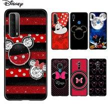 Soft Cover Disney Minnie Boog Voor Huawei P Smart 2021 2020 Z S Mate 40 Rs 30 20 20X 10 pro Plus Lite 2019 Telefoon Case