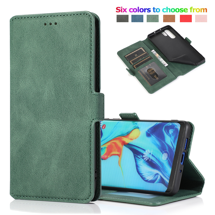 Leather Flip Case for Huawei P30 P40 P20 <font><b>Mate</b></font> 30 <font><b>20</b></font> Pro <font><b>Lite</b></font> P Smart Z Plus Y5 Y6 Y7 2019 Y5P Y6P Y7P Y8P 2020 Wallet Cover Etui image