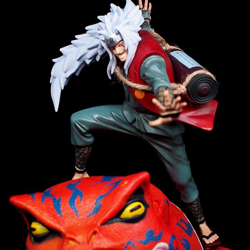 Anime Naruto Shippuden Jiraiya GK Gama Sennin Figure 29CM New no Box