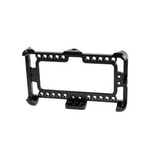 Image 2 - Kayulin alüminyum monitör kafes braketi monitör durumda mükemmel monitör dağı için Fit FeelWorld F5 On kamera monitörü