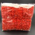 144 шт./упак. мини пена Искусственный цветок розы Свадебный декор букета ремесло поставки C66