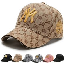 Baseball cap outdoor sports spring and summer fashion letter embroidery NY adjustable men's hat fashion multicolor hip hop hat