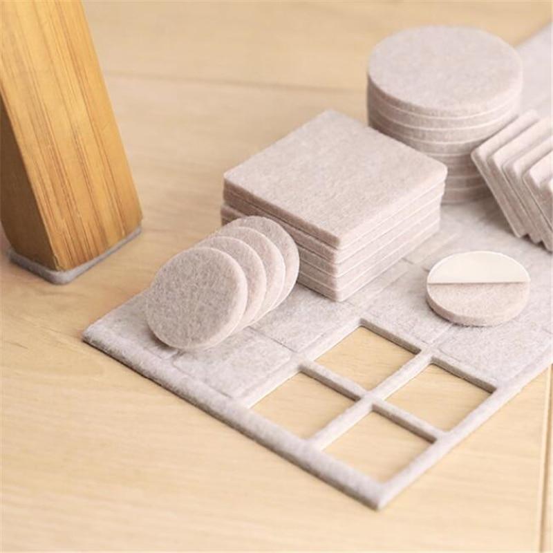Useful Protection Pad Anti-slip Felt Sticky Table Chair Mat Home Slip Felt Sticker Appliances Sticker Mats Furniture Products