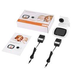 3,5 LCD Digital Wireless Baby Monitor Video Kamera 2,4 GHz Zwei-weg Sprechen Nachtsicht Voice Aktivierung Temperatur erkennung