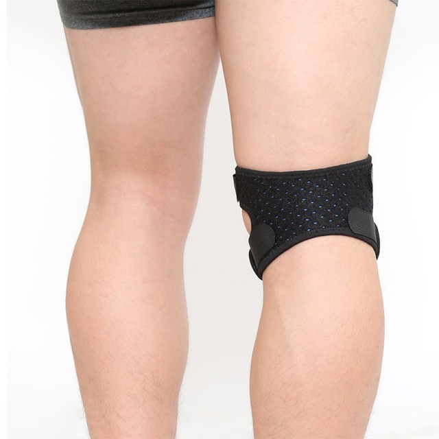 Sports 1Pcs Knee Support Brace Women Men Adjustable Knee Patella Sleeve Wrap Cap Sports Knee Breathable Protection Patellar Belt 4