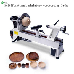 Equipo de procesamiento de cuenta de madera pequeño torno de pulido giratorio de velocidad variable chuck Mini torno de madera