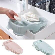 Пластиковая стирка с держателем для мыла