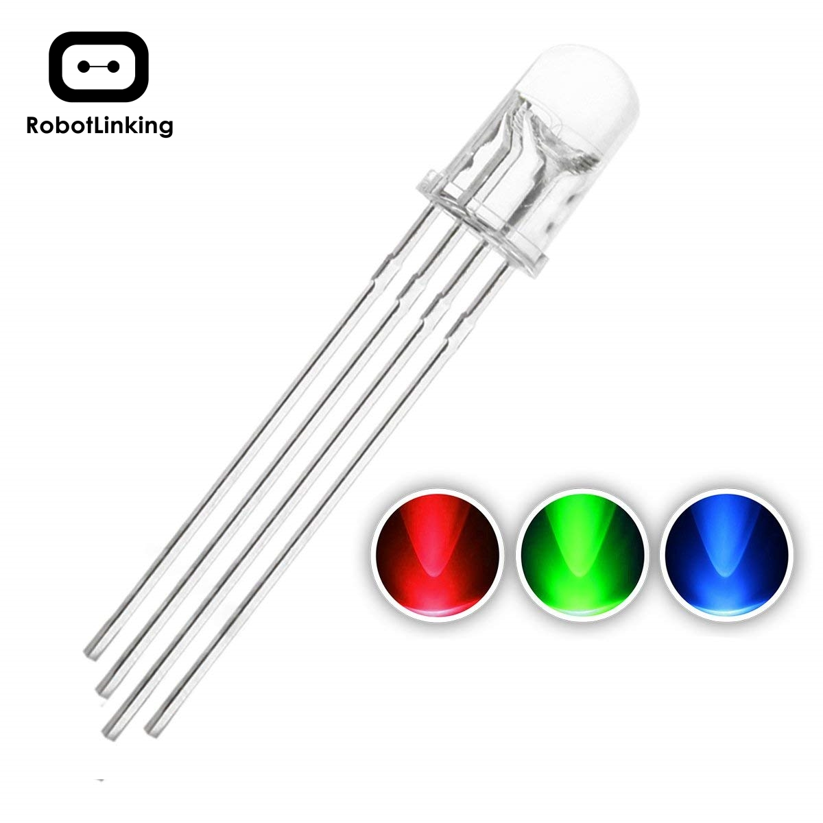 1000 pièces 5mm RGB diode LED lumières tricolore Super lumineux éclairage ampoule lampes composants électroniques Diodes électroluminescentes