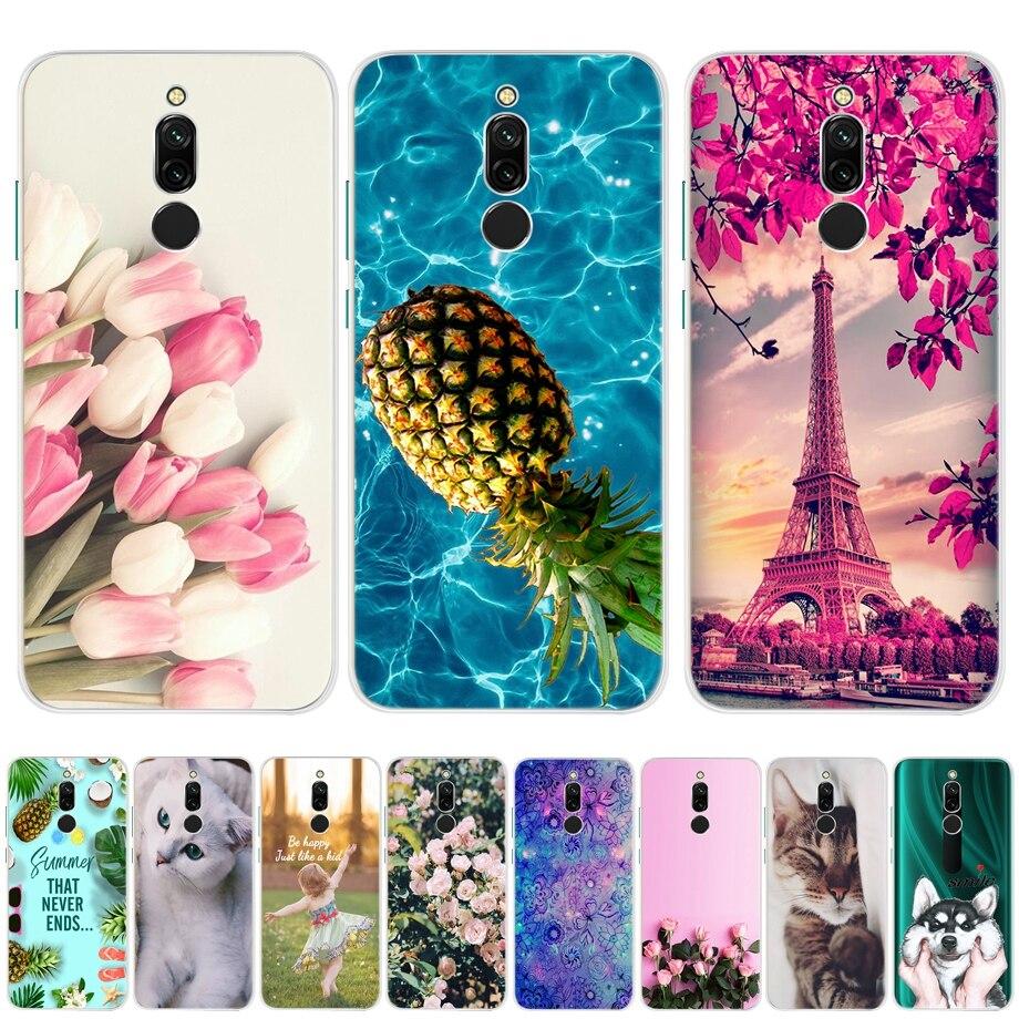 Phone Case For Redmi 8 Case Silicone Soft TPU Back Cover Cases For Bumper Fundas Xiomi Xiaomi Redmi 8 Pro Redmi 8 Global Case