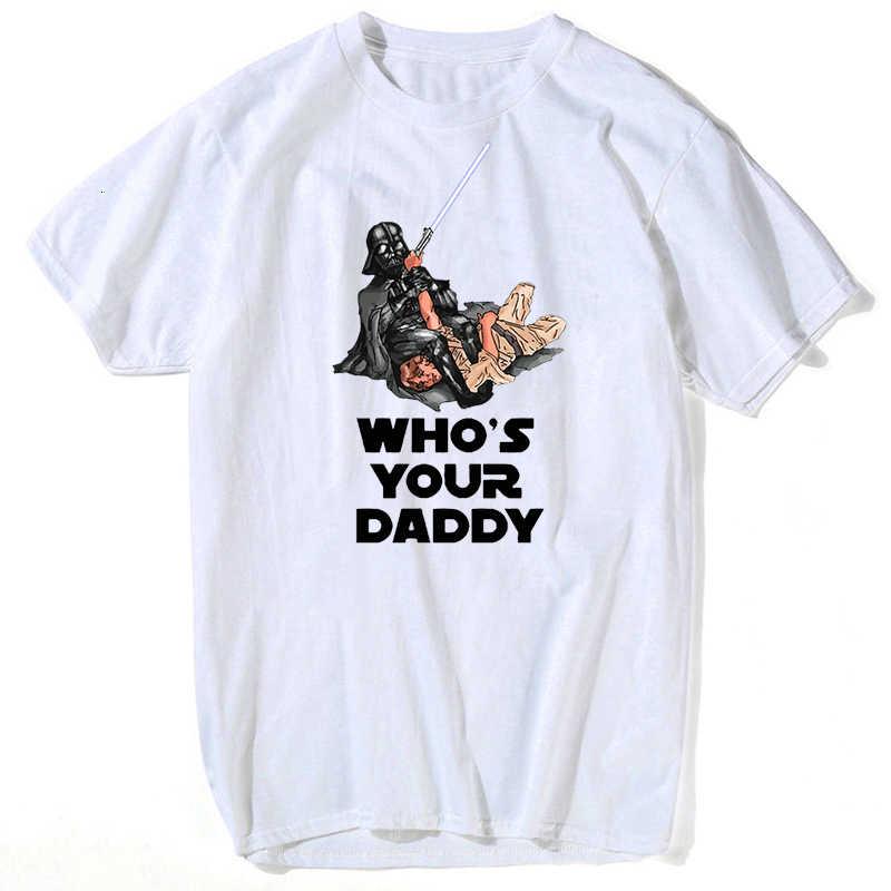 Śmieszne T Shirt mężczyźni Vader Bjj gwiezdne wojny brazylijskie Jiu Jitsu Top dziecko Yoda Mandalorian StarWars koszulki Judo z krótkim rękawem Tee topy