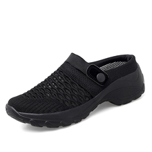 KIKIDS Lady Shoes Casual Increase  Summer Spring Sandals Non-slip Platform Sandal For Girl Breathable Mesh Outdoor Walk Slippers